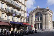 Façade de l'hôtel - Gare du Nord